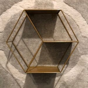 Hexagon Hold Metal Shelf